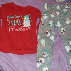 *Sale 7 for $28*Carter's Christmas Holiday Pajamas